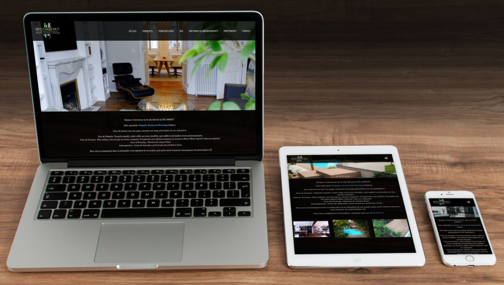 Création du site Internet de SFC Habitat à Rennes 35 Ille et Vilaine Bretagne